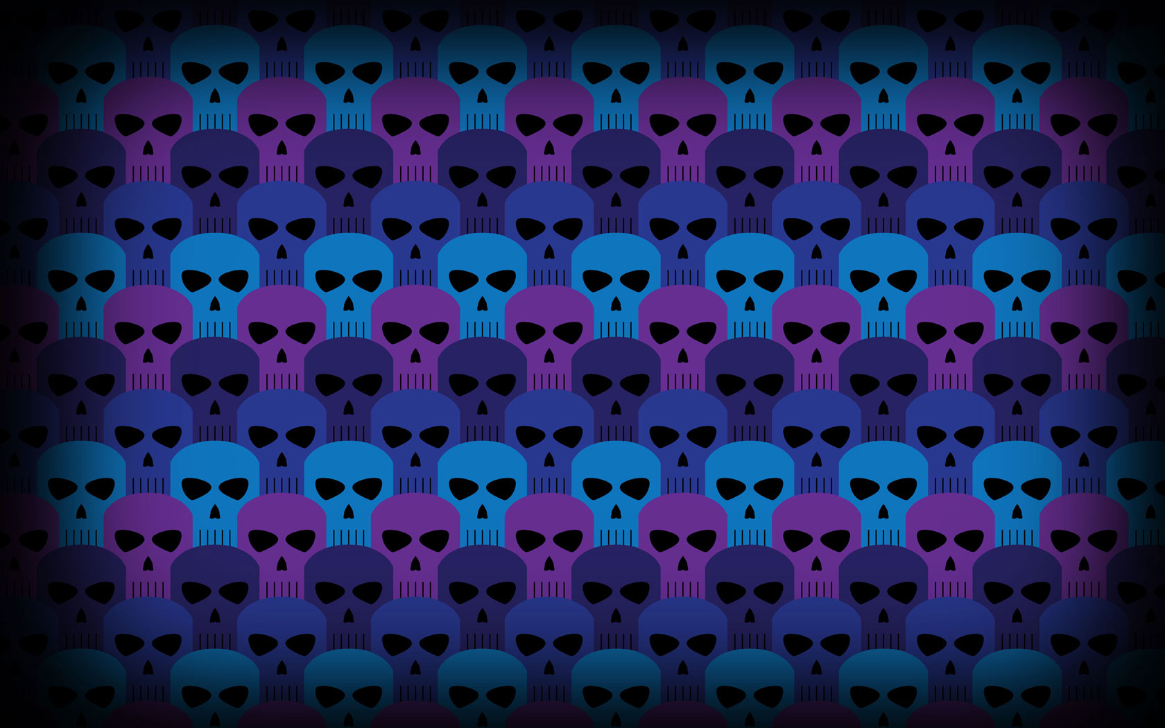 skull pattern wallpaper 15491
