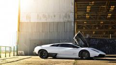 Awesome White Lamborghini Wallpaper 35021
