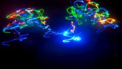 Neon Lights Wallpaper 24345
