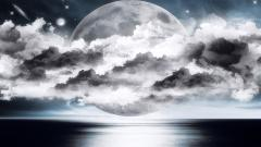 Silver Moon Wallpaper 21837