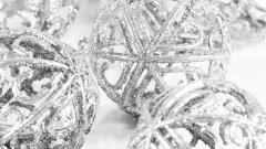 Silver Ornaments Wallpaper 21843