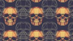 Skull Pattern 15487