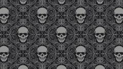 Skull Pattern Wallpaper 15489