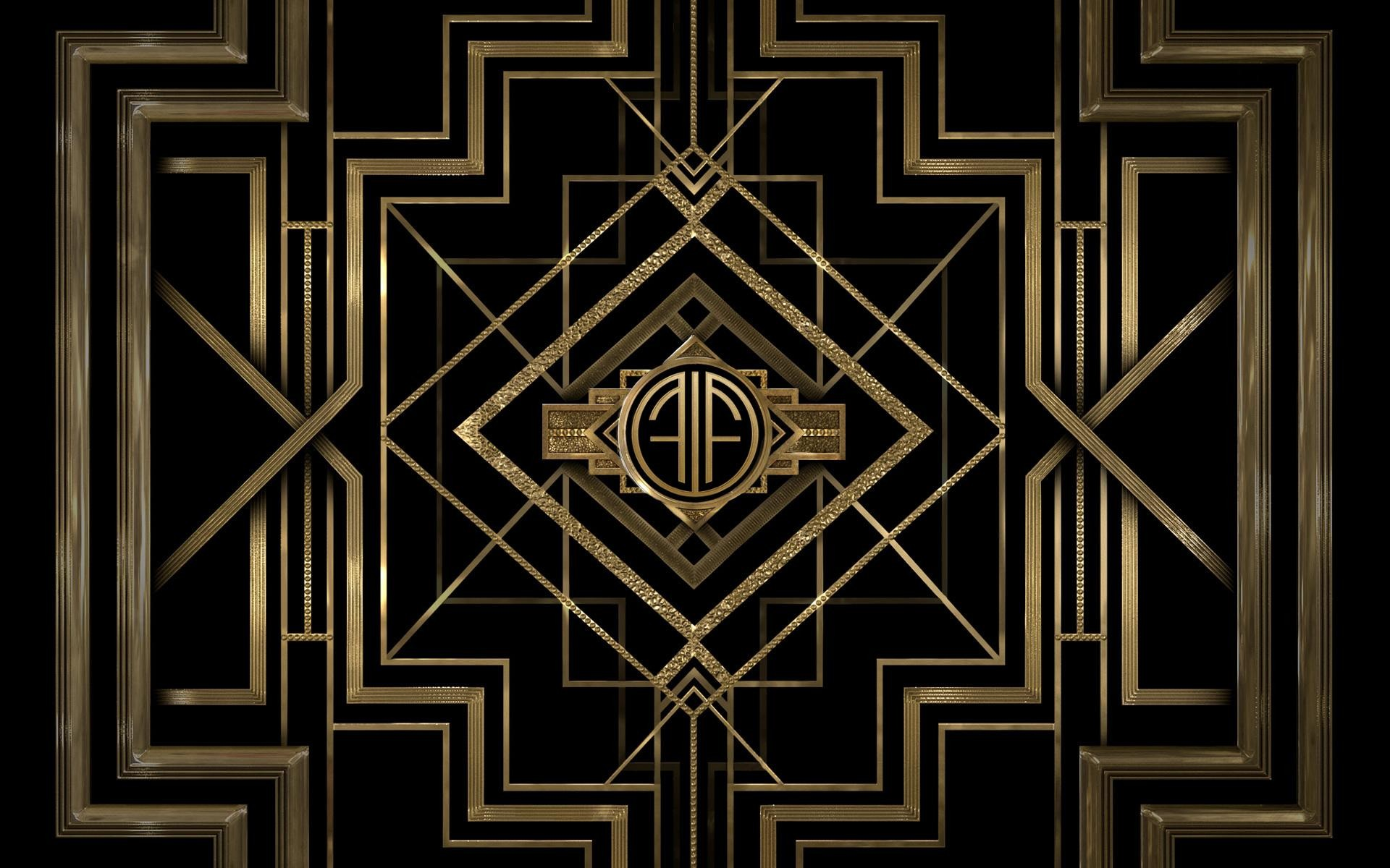 Art deco wallpaper 6583 1920x1200 px for Art decoration france