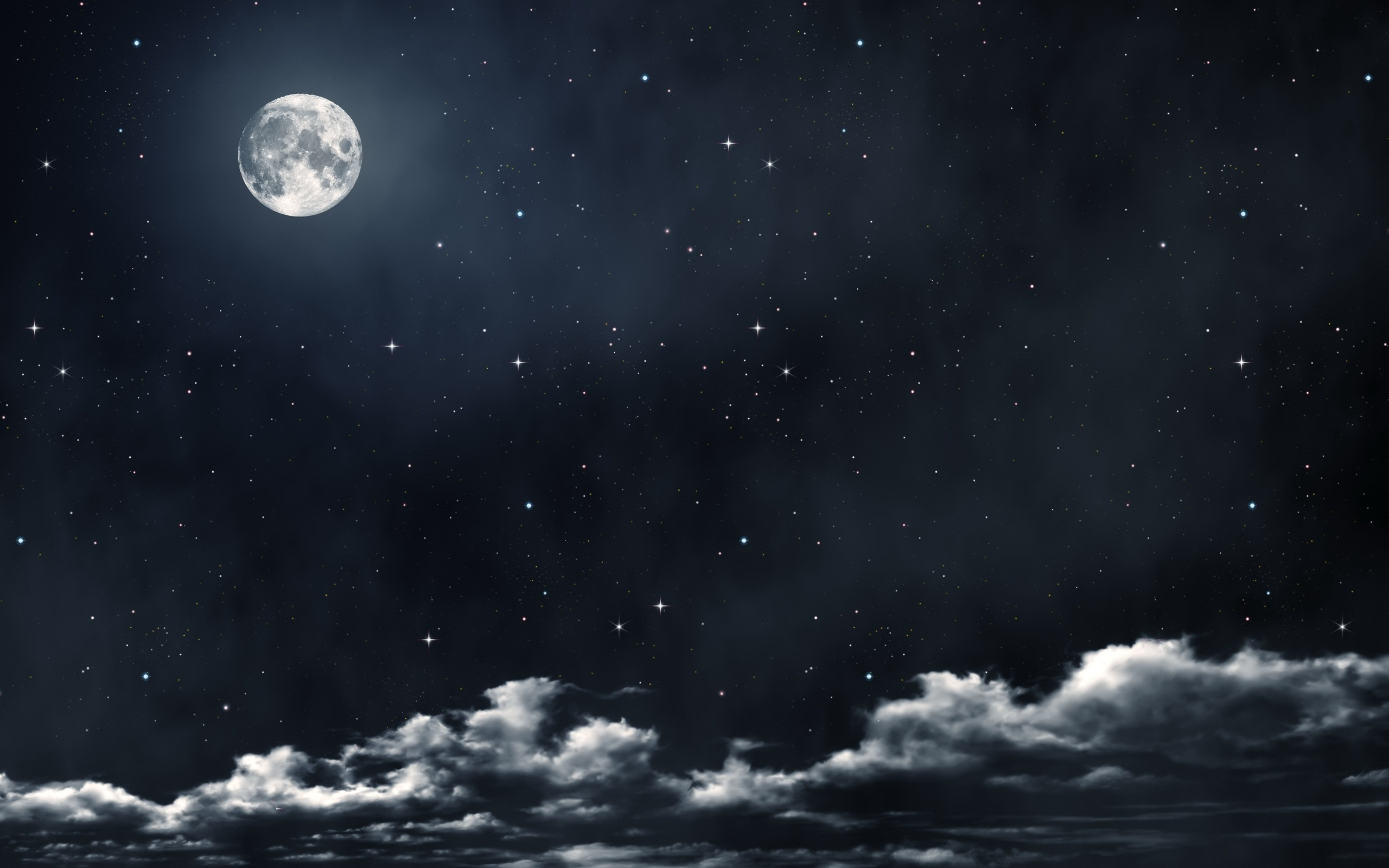 beautiful full moon wallpaper 40064