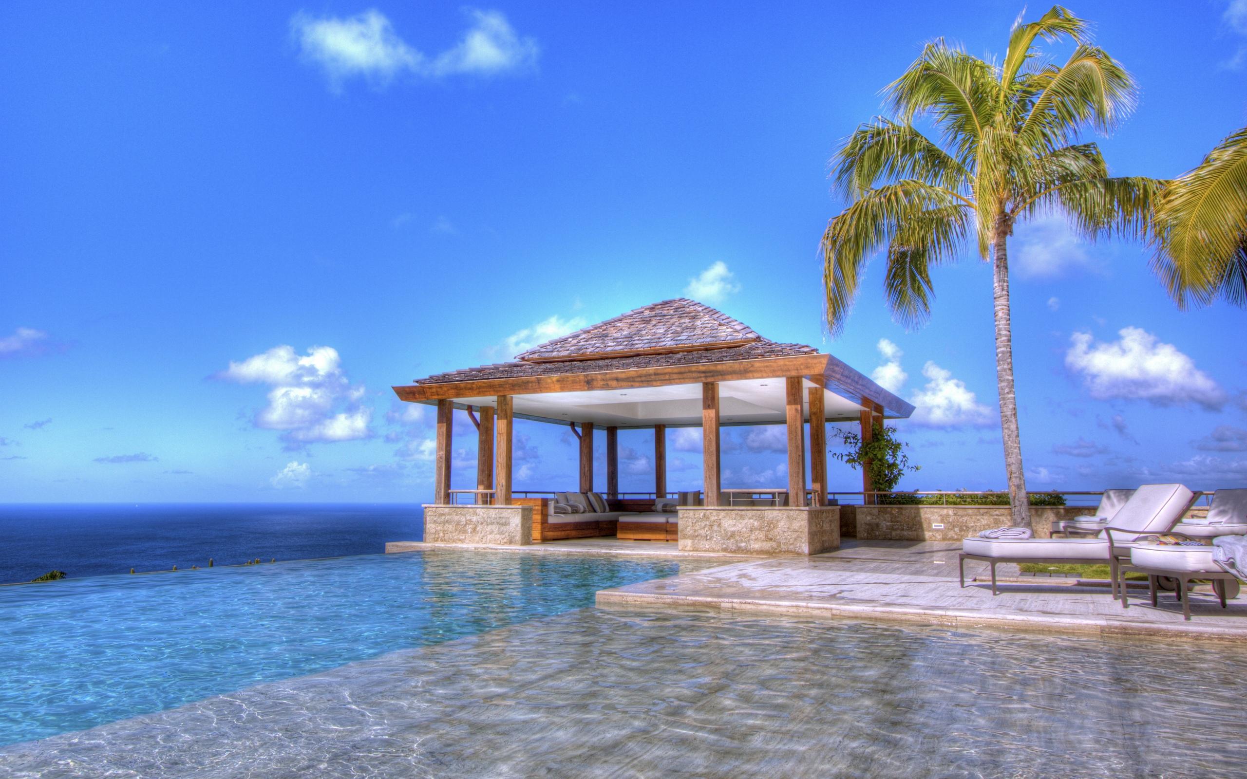 gorgeous resort wallpaper 44394