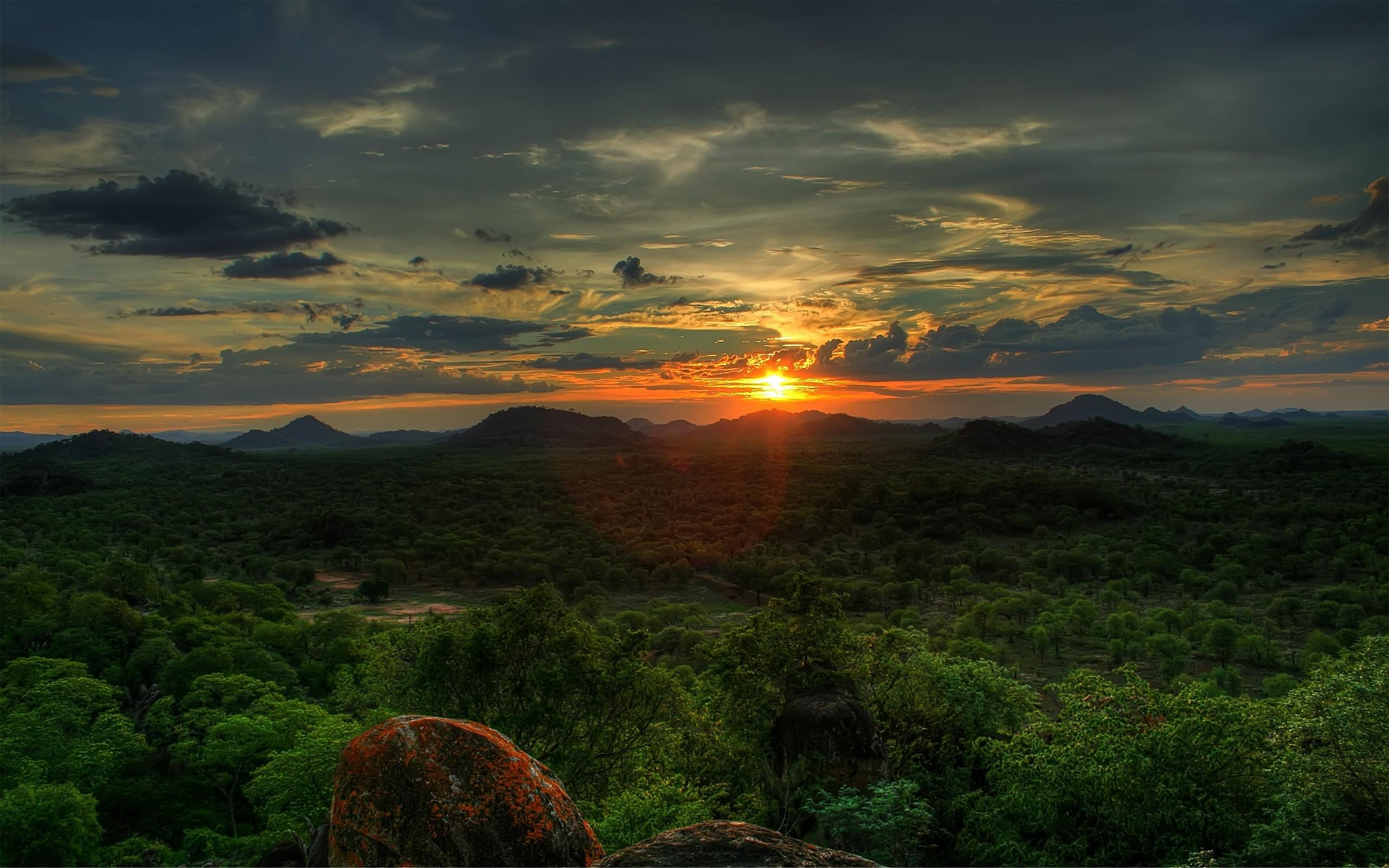green sunset 15176