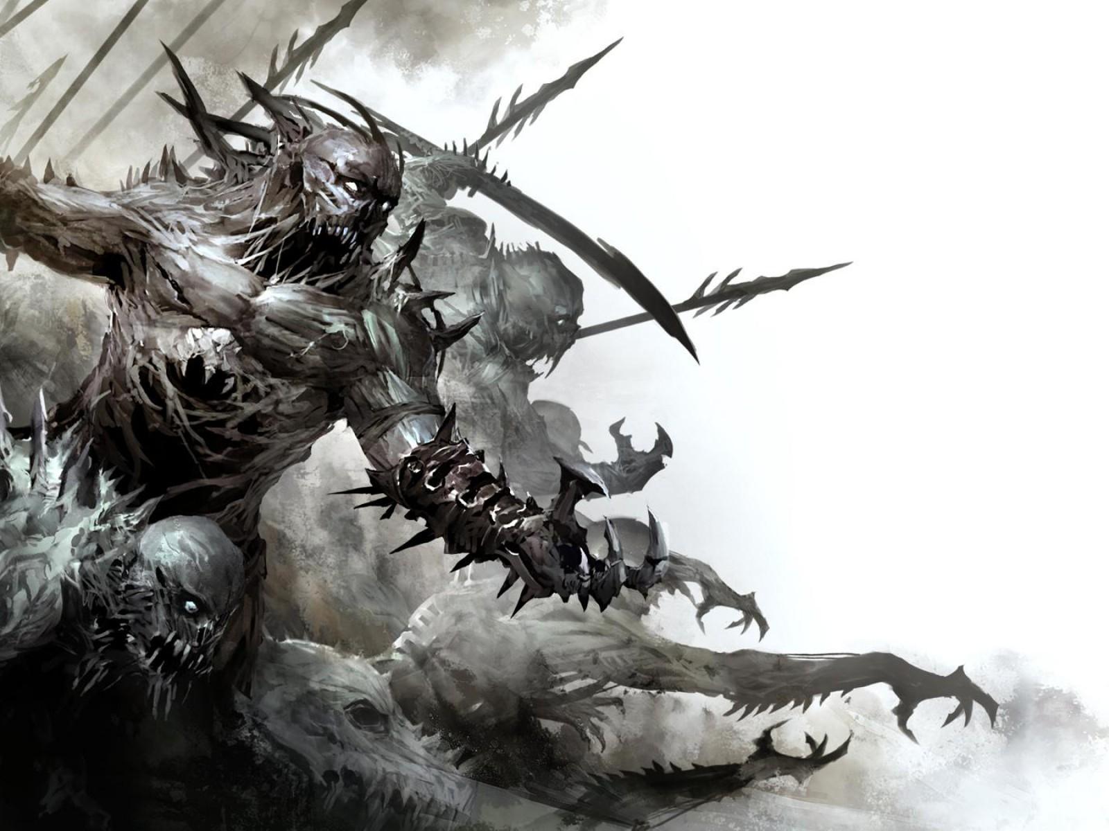 scary monster wallpaper 16974