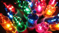 Colorful Christmas Lights Wallpaper 24366