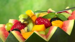 Fresh Fruit Salad Wallpaper 44382