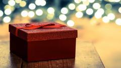 Holiday Gift Box Wallpaper 40022