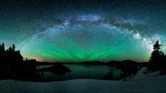 Northern Lights Background 21164