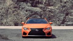 Orange Lexus RC F Wallpaper 44349