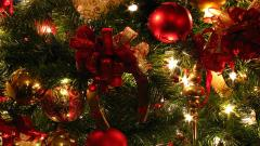 Pretty Christmas Lights Wallpaper 24368