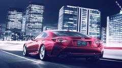Red Lexus RC 350 Wallpaper 44355