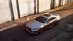 Silver Lexus RC 350 Wallpaper 44359
