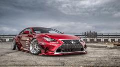 Stunning Red Lexus RC F Wallpaper 44351
