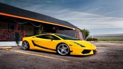 Yellow Lamborghini Gallardo Superleggera Wallpaper 44637