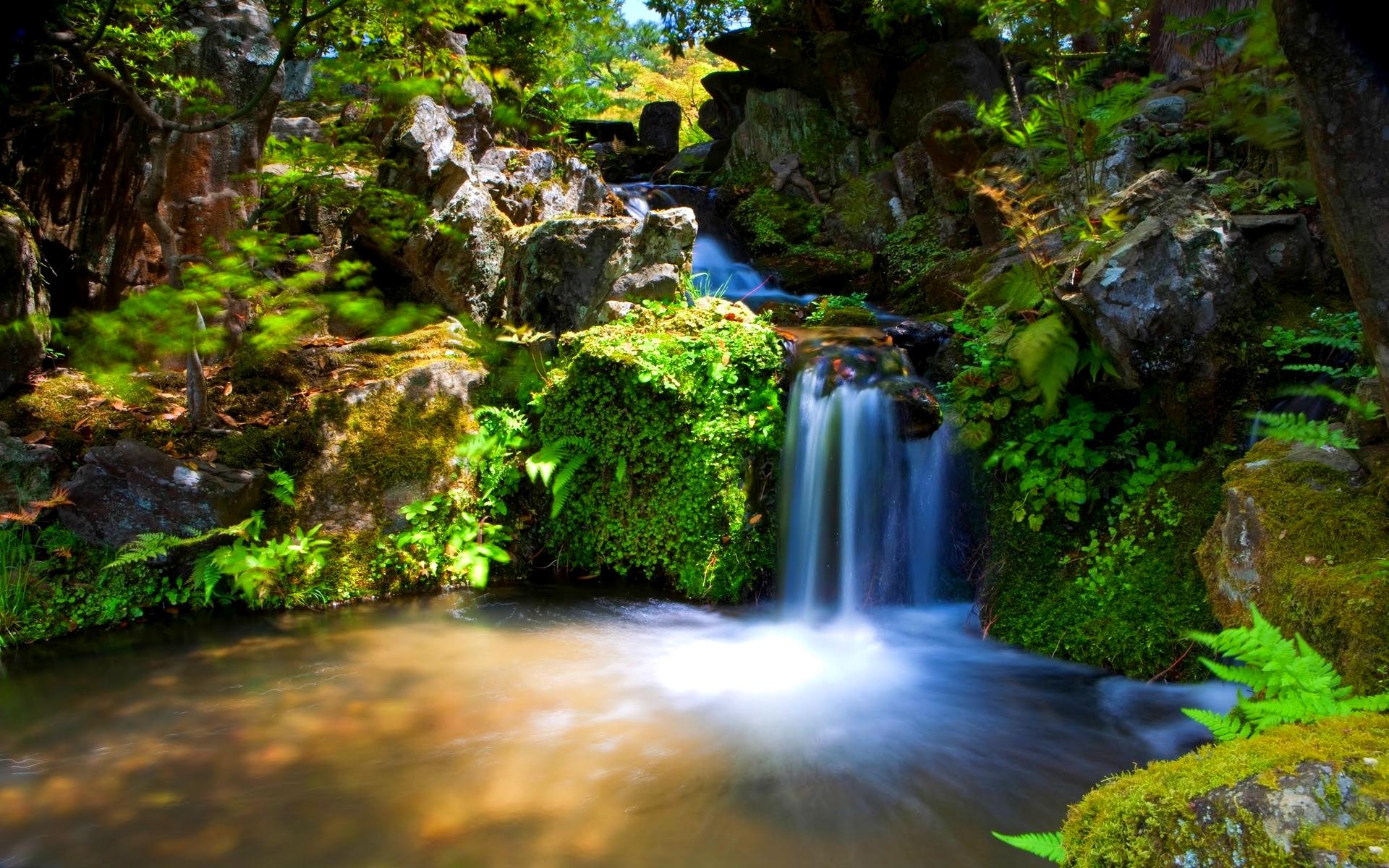 beautiful falls wallpaper 38856