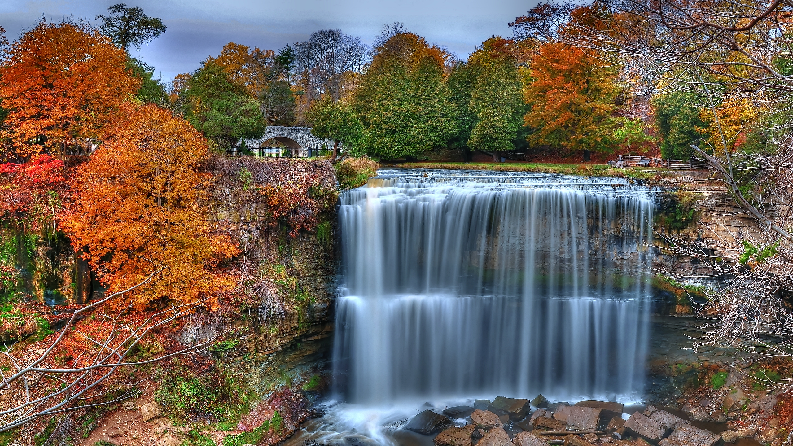 falls background 38852