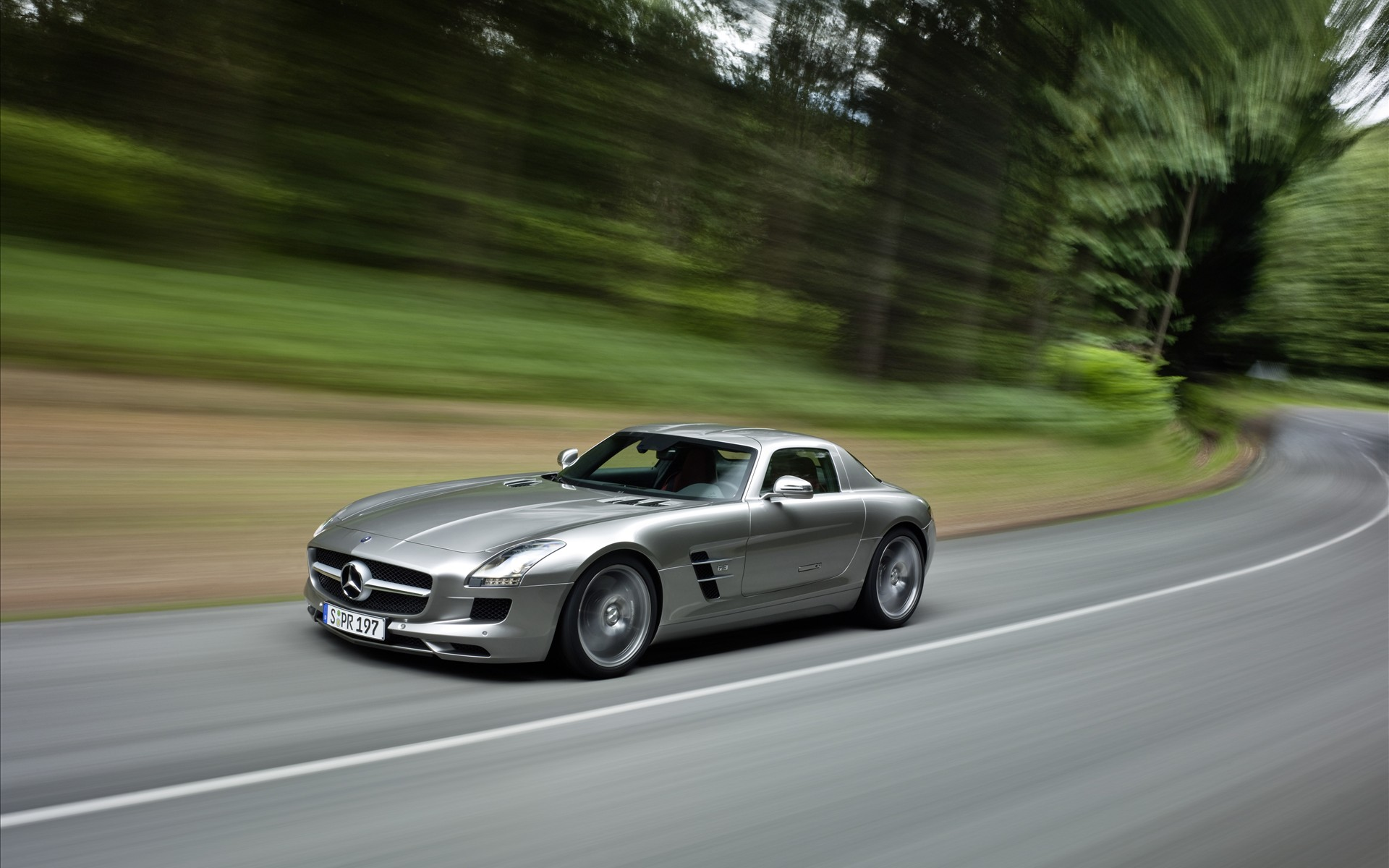 fantastic mercedes sls wallpaper 36517