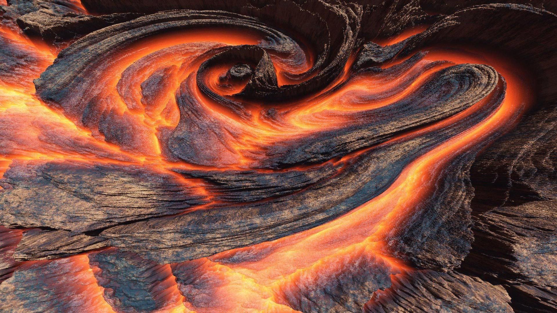 free volcano wallpaper 20298
