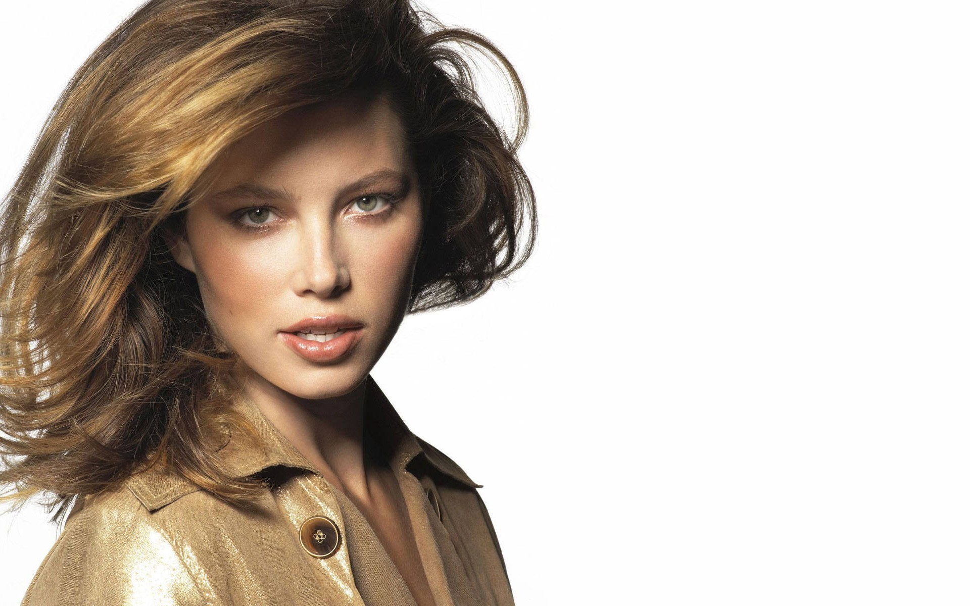 gorgeous jessica biel wallpaper 43019