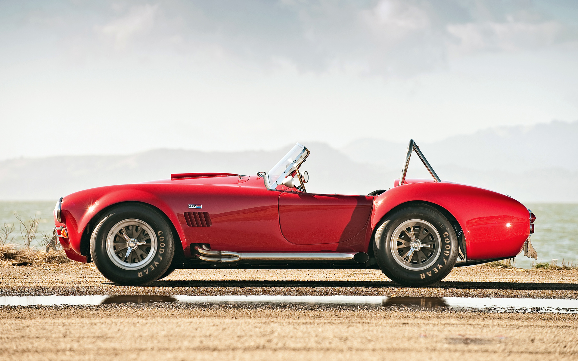 gorgeous red shelby cobra wallpaper 44660