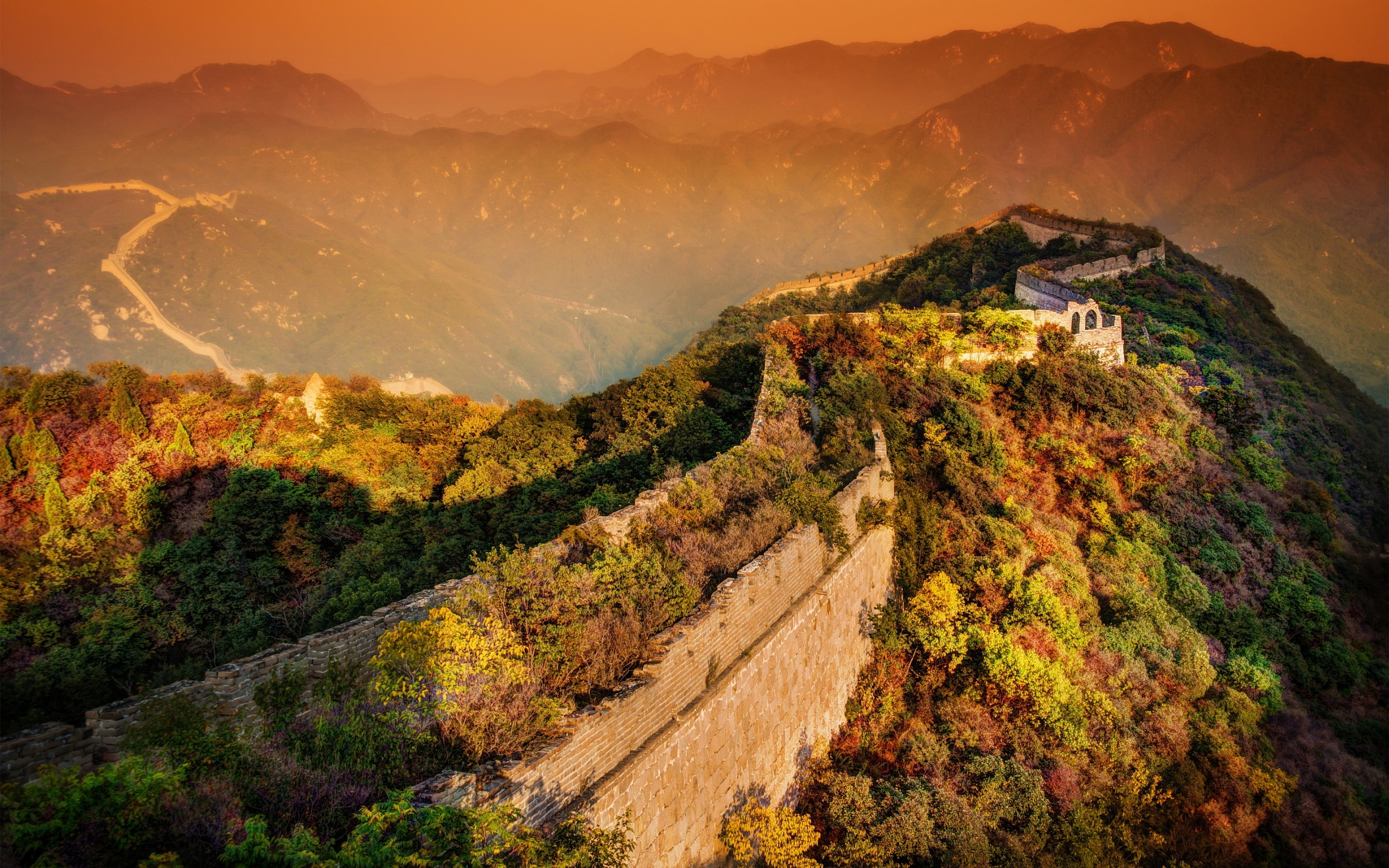 Download Great Wall Of China Background 36528 2560x1600 Px High