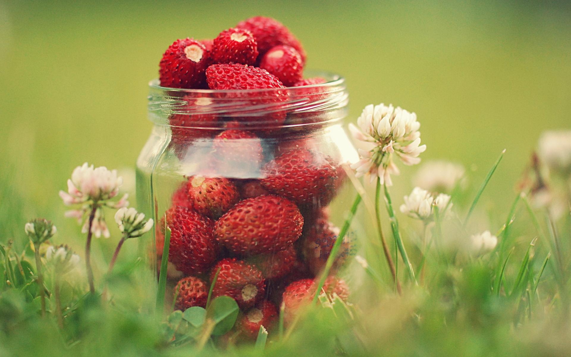 lovely strawberries wallpaper 38825