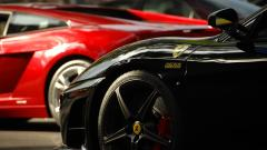 Black Ferrari Background 36848