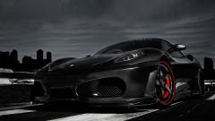 Black Ferrari Wallpaper HD 36842