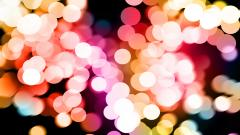 Colorful Bokeh Wallpaper 34550