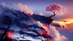 Fantasy Volcano Wallpaper 20288