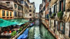 Lovely Canal Wallpaper 36752