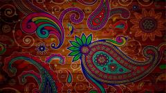 Paisley Wallpaper 7055