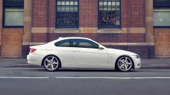 White BMW 3 Series Wallpaper 44677