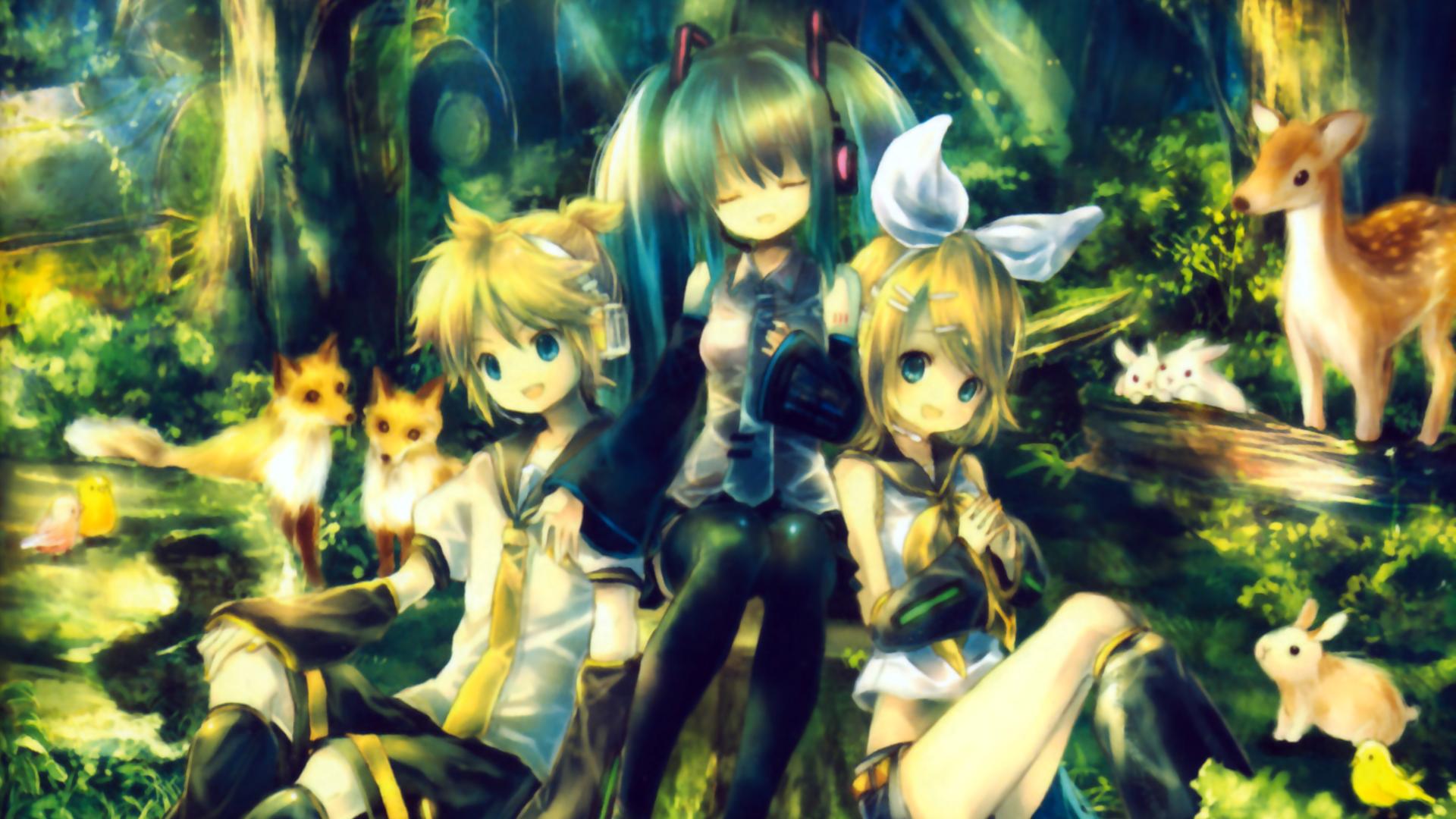 Vocaloids Wallpaper