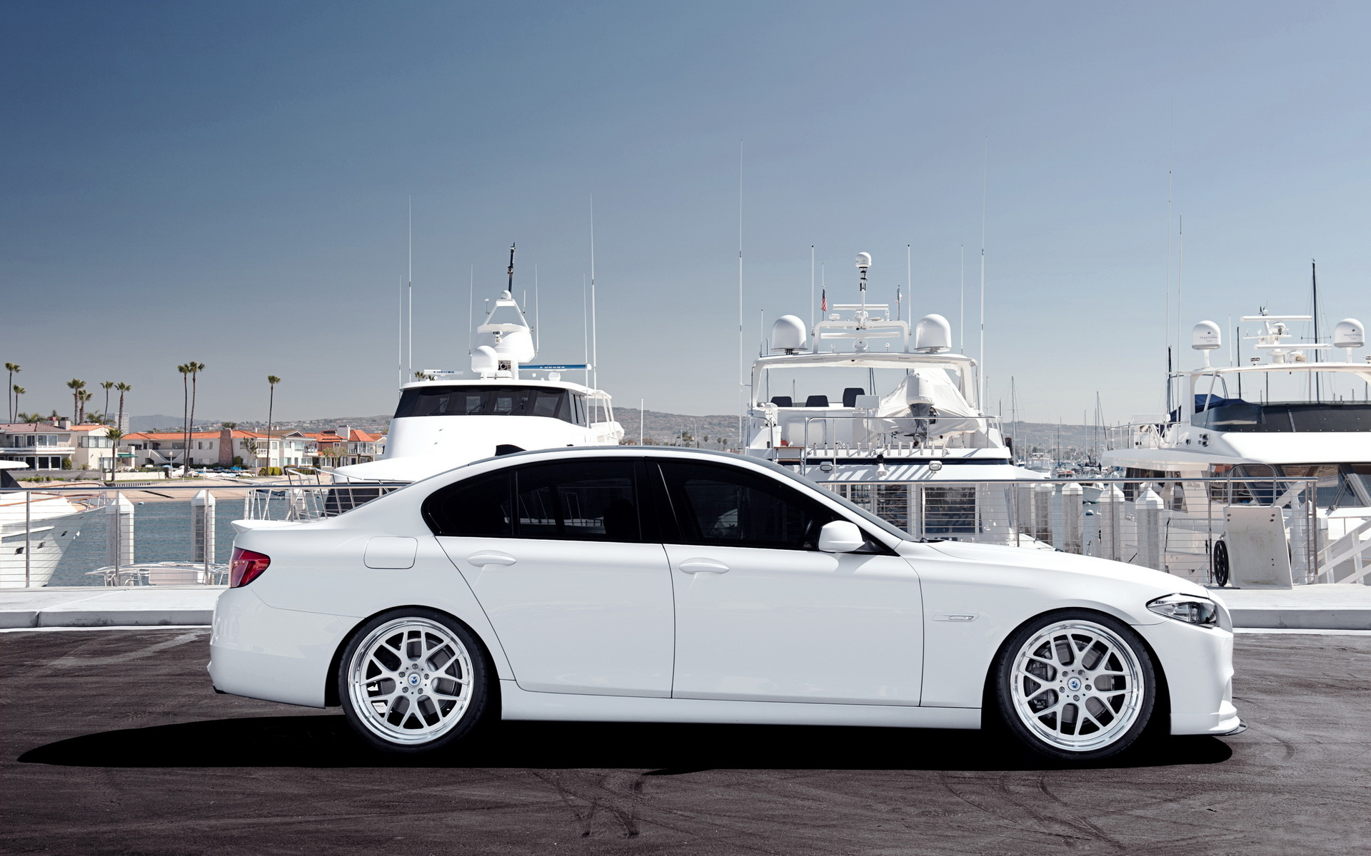 white bmw 5 series wallpaper 43567 1920x1200px. Black Bedroom Furniture Sets. Home Design Ideas