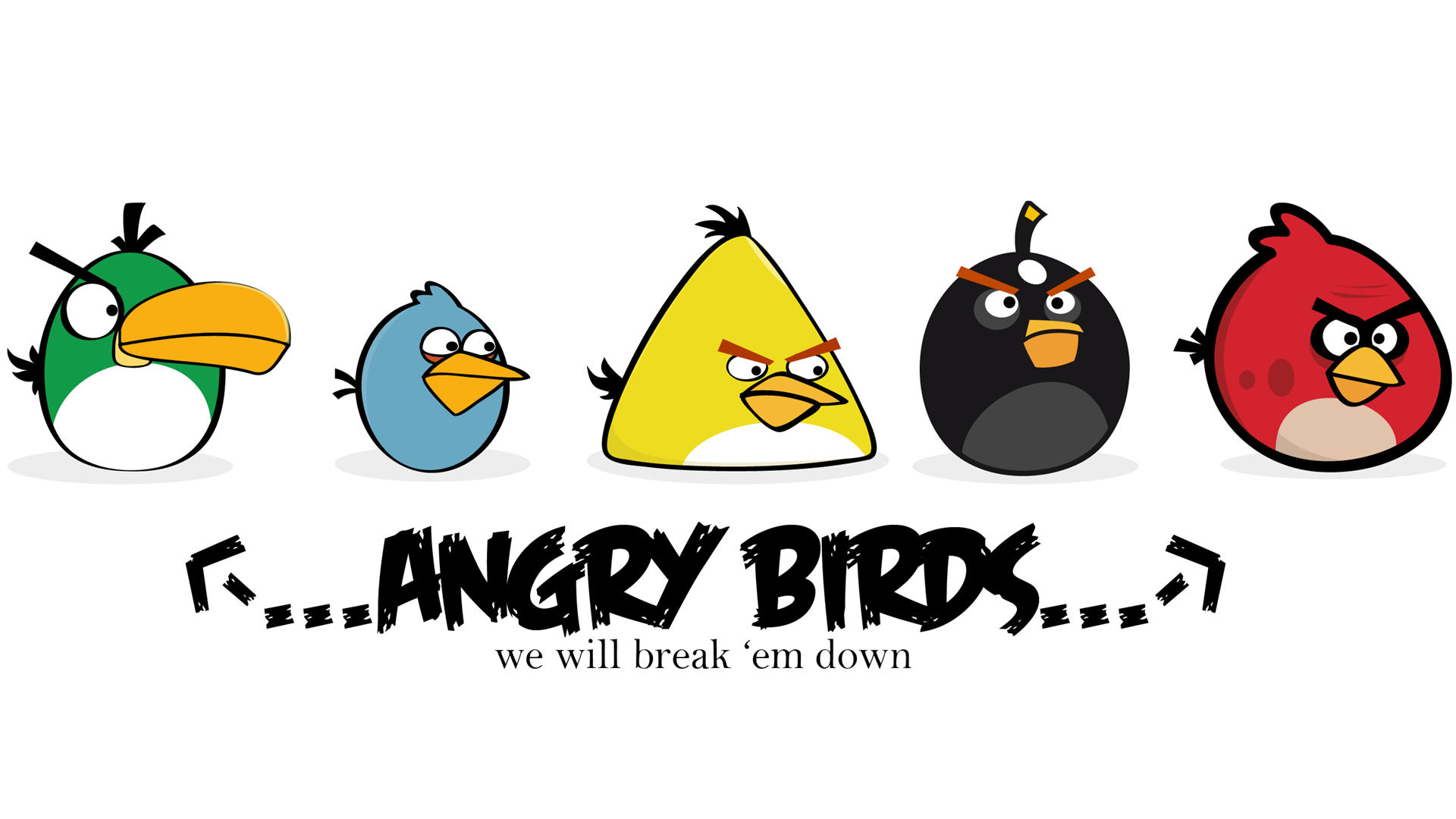 Angry birds wallpaper 13218 1920x1080 px angry birds wallpaper 13218 voltagebd Gallery