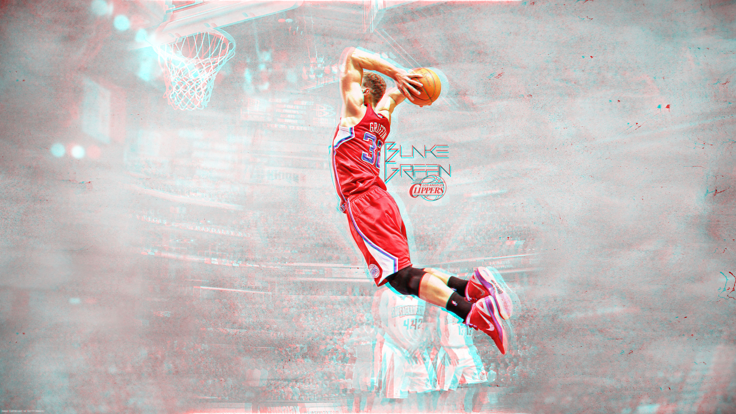 Awesome Blake Griffin Wallpaper 17125 2560x1440 px ...