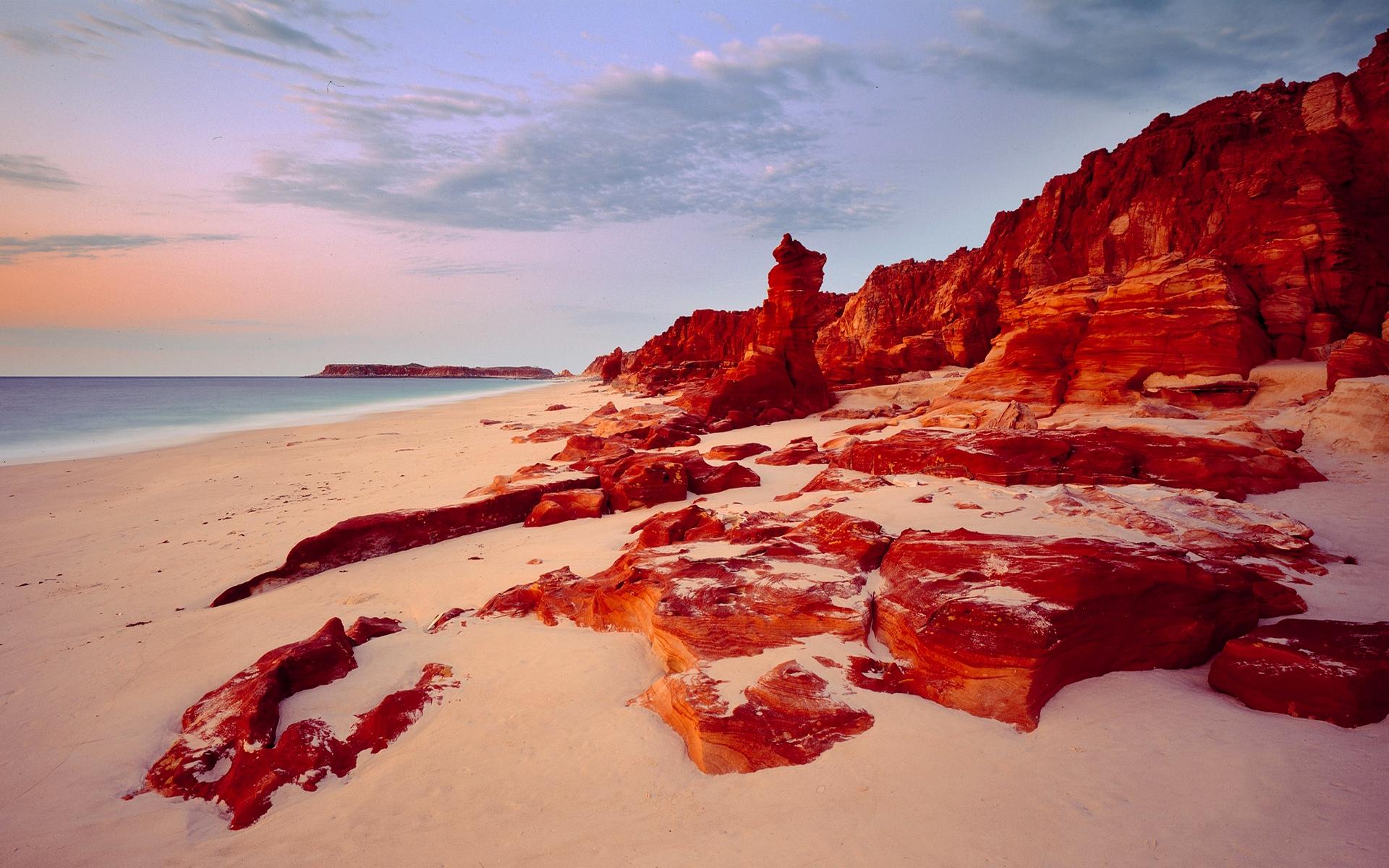 beach rocks wallpaper 34577