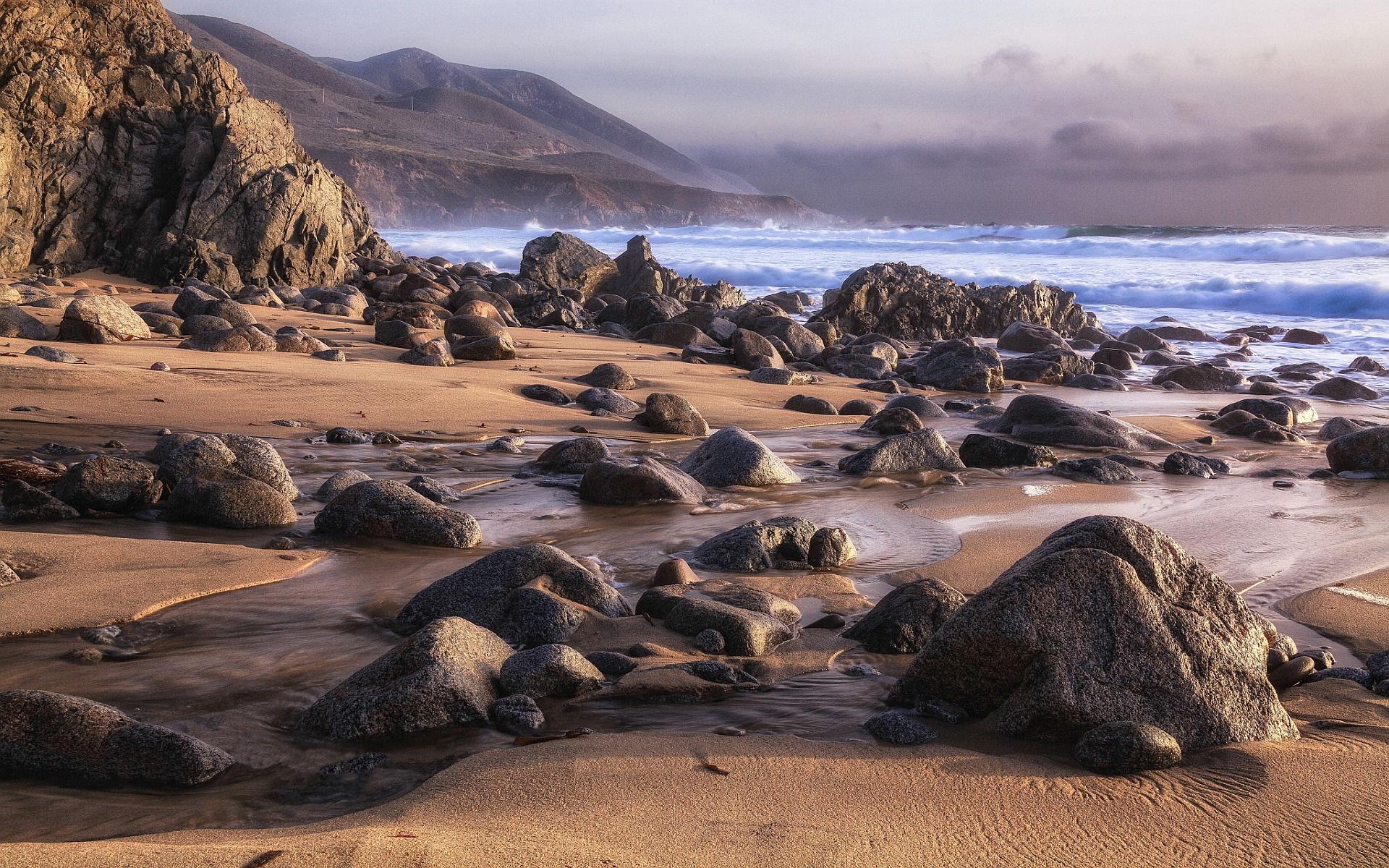 скалы берег песок  № 1185435 загрузить