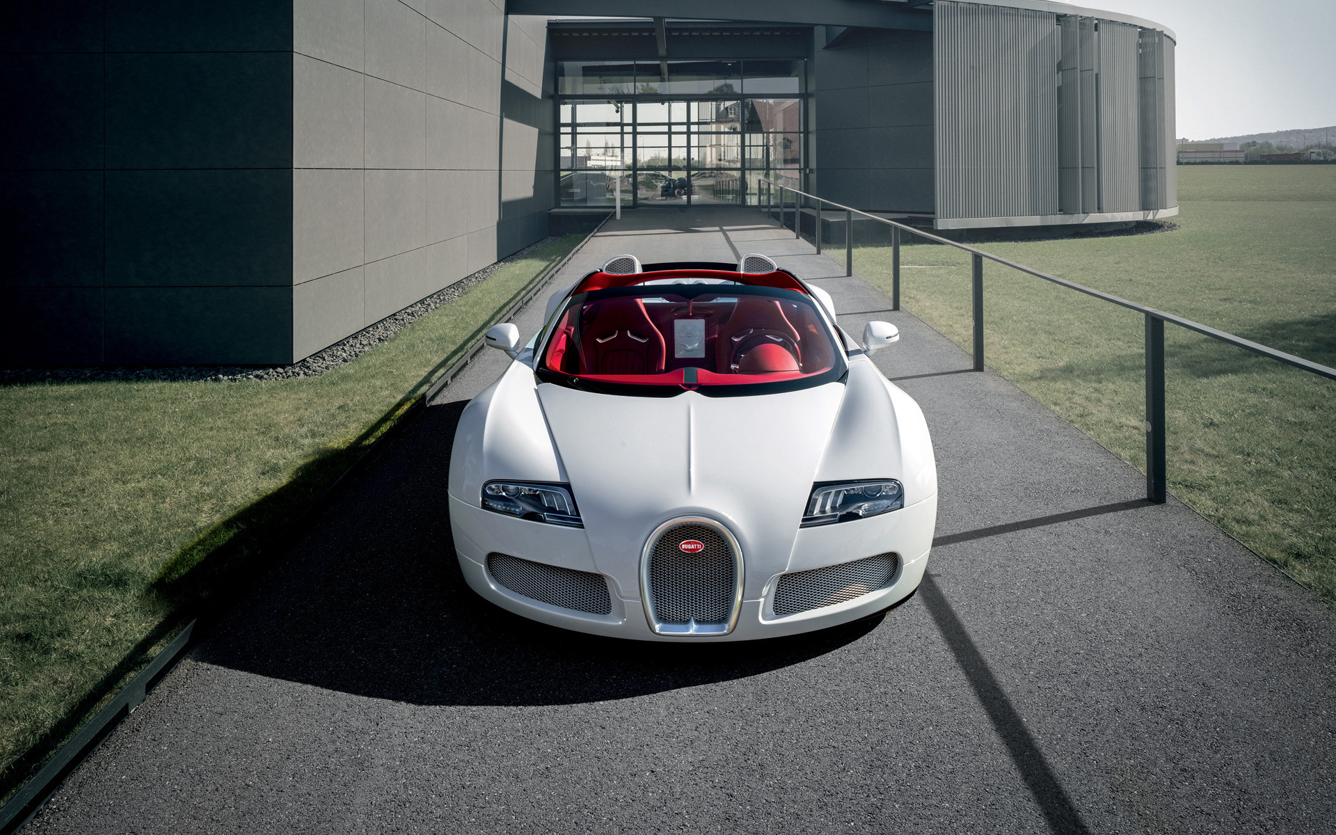 beautiful white bugatti wallpaper 44199