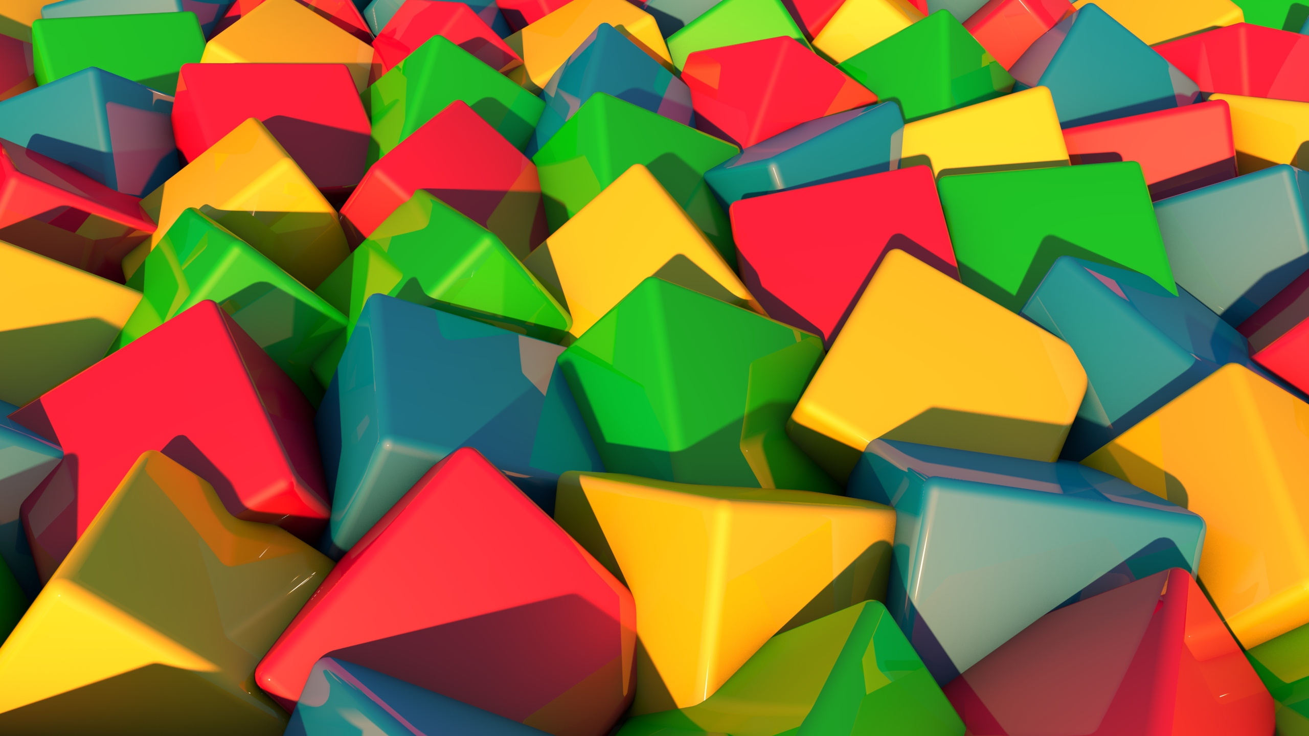 colorful blocks wallpaper 43490