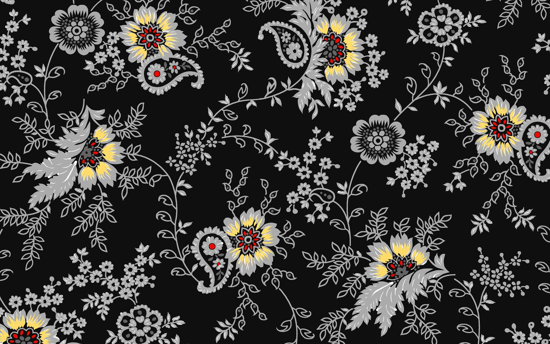 Flower Pattern Wallpaper 18968 1920x1200 px ~ HDWallSource.com