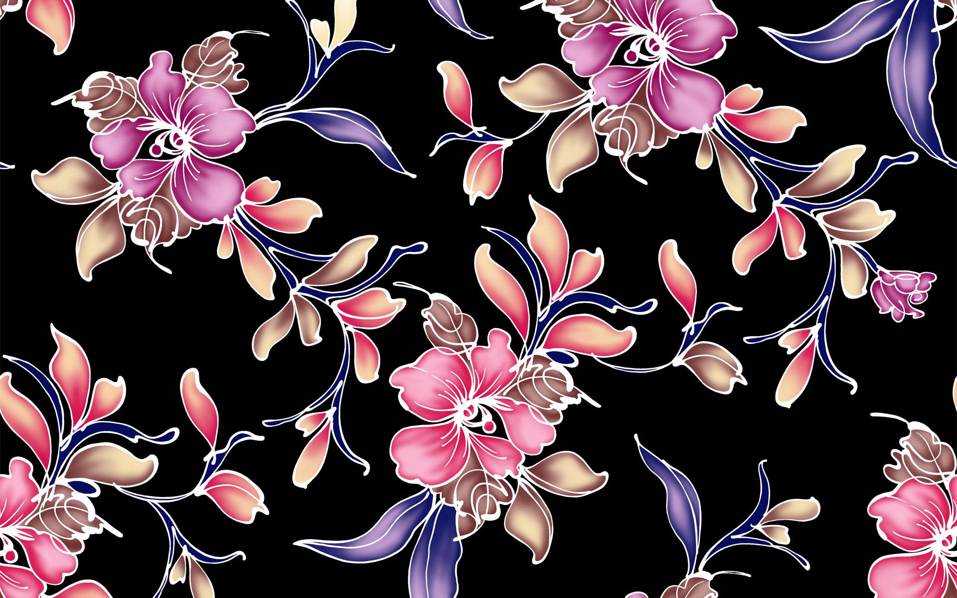 Flower Pattern Wallpaper hd Flower Pattern Wallpaper