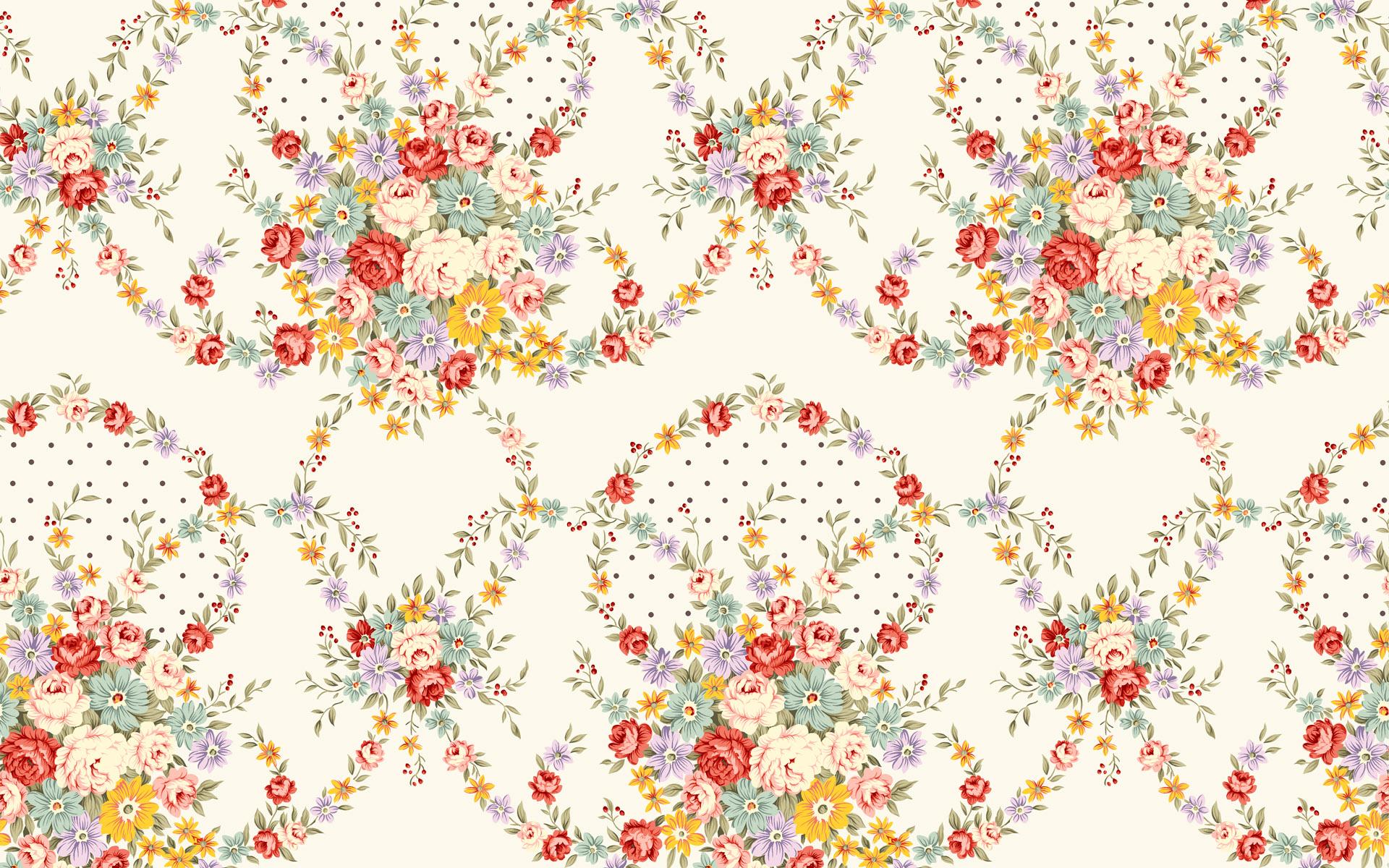 flower pattern wallpaper 18971