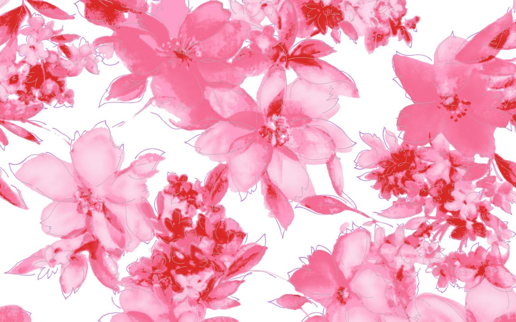 Flower Pattern Wallpaper 18977 1680x1050 px ~ HDWallSource.com