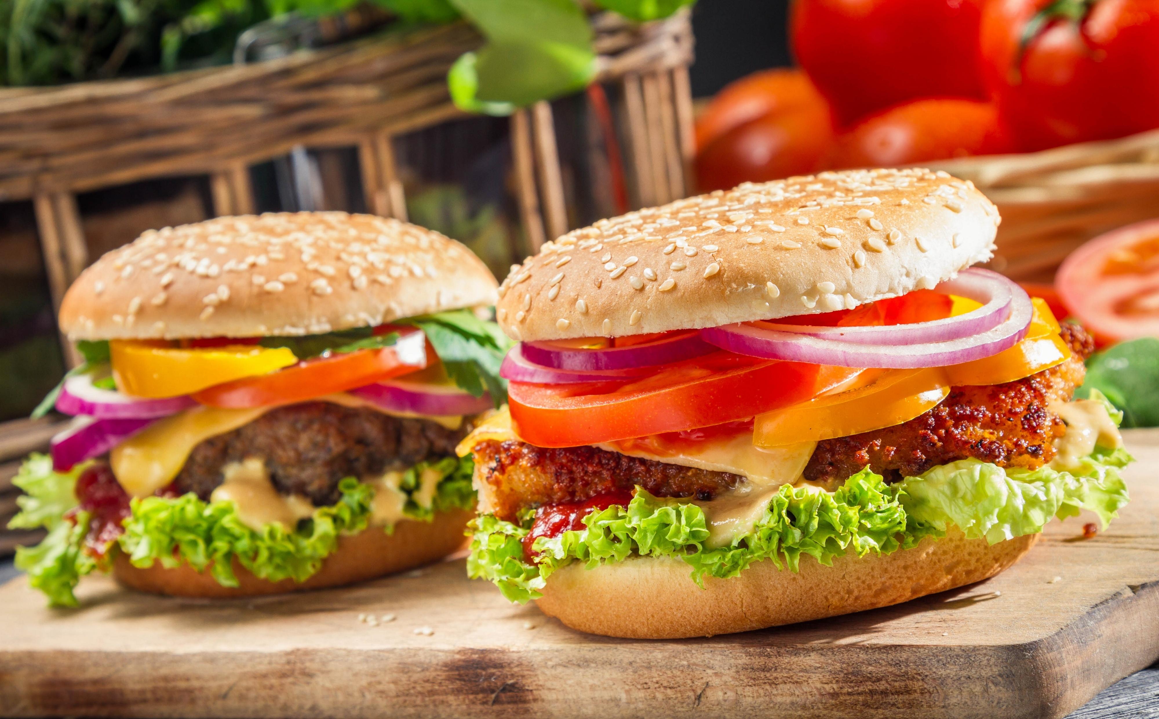hamburger background 42081